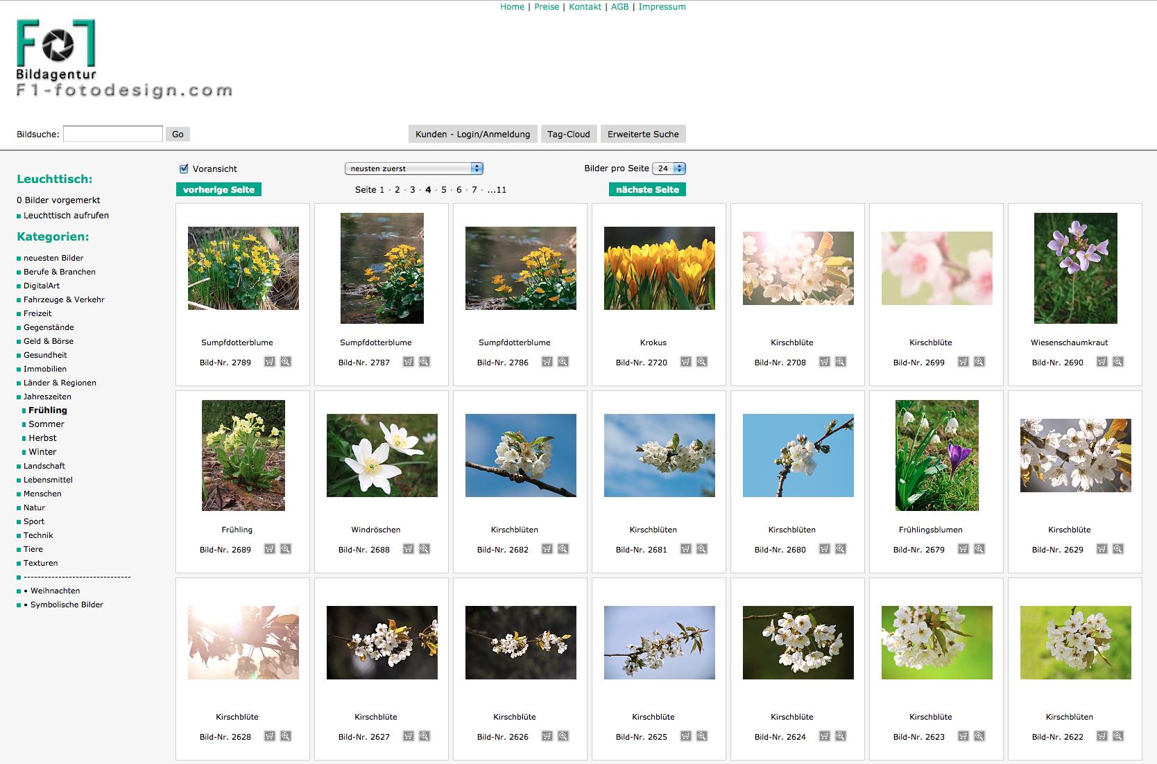 Bildagentur mit Frühlingsmotiven 2016