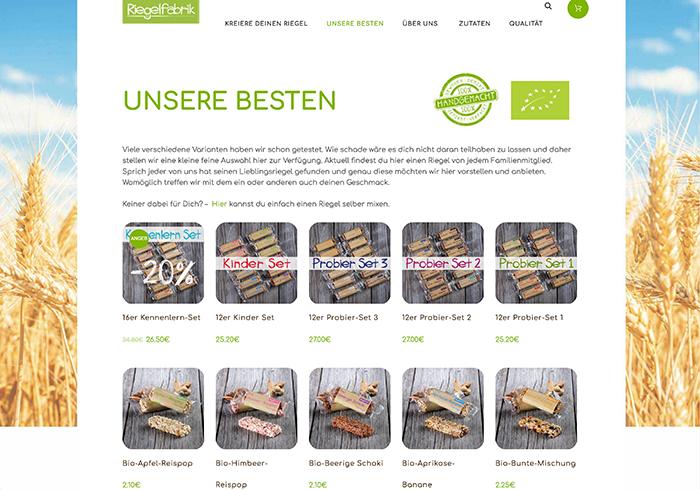 Onlineshop, Foodfotograf